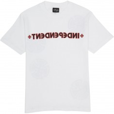Independent Cross/Bar T-Shirt - White