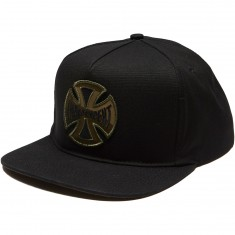 Independent Concealed Snapback Hat - Black