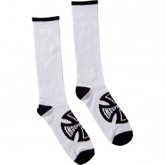 Independent Concealed Socks - White