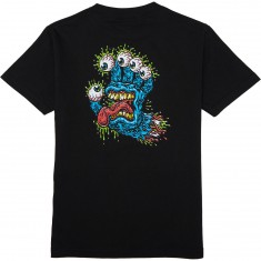 Santa Cruz Gnar Hand T-Shirt - Black