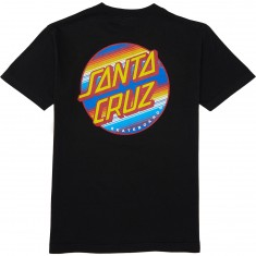 Santa Cruz Jorongo Dot T-Shirt - Black