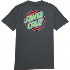 Santa Cruz Party Dot T-Shirt - Charcoal