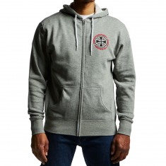 Independent Speed Kills Zip Hoodie - Gunmetal Heather