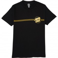 Santa Cruz Other Dot T-Shirt - Black/Black/Gold