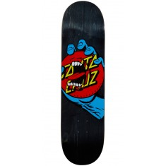 Santa Cruz Hand Dot Hard Rock Maple Skateboard Deck - 8.25