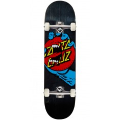Santa Cruz Hand Dot Hard Rock Maple Skateboard Complete - 8.25