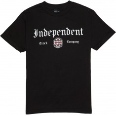 Independent Gothic T-Shirt - Black