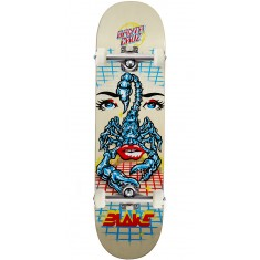Santa Cruz Johnson Danger Zone Pro Skateboard Complete - 8.375