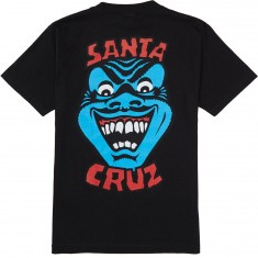 Santa Cruz Speed Wheels Face T-Shirt - Black