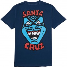Santa Cruz Speed Wheels Face T-Shirt - Harbor Blue