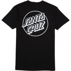 Santa Cruz Opus Dot T-Shirt - Black/White