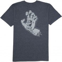 Santa Cruz Hand T-Shirt - Navy Heather
