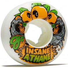 OJ Sharks EZ Edge Insaneathane 101a Skateboard Wheels - 52mm