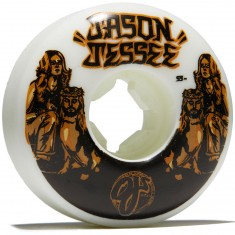 OJ Jessee The Hardest EZ Edge Insaneathane 101a Skateboard Wheels - 55mm