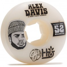OJ Habitat Family EZ EDGE Skateboard Wheels - 52mm 101a