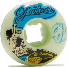 OJ Figgy Jetski Skateboard Wheels - 53mm 101a