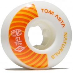 Ricta Asta Pro Naturals 99a Skateboard Wheels - 51mm