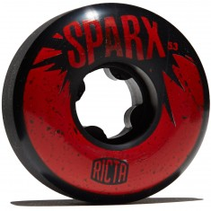 Ricta Sparx 101a Skateboard Wheels - Black - 53mm