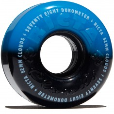 Ricta Cloud Duotones 78a Skateboard Wheels - Blue - 52mm