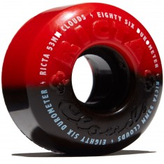 Ricta Cloud Duotones 86a Skateboard Wheels - Red - 53mm