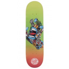 Santa Cruz Pitchgrim Hand Everslick Skateboard Deck - 8.25