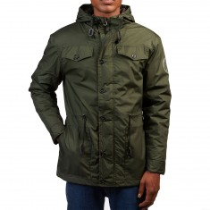 Independent Manuvers Jacket - Dark Army Green
