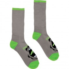 Santa Cruz Screaming Socks - Grey