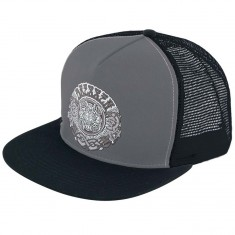 Santa Cruz Dressen Roses Trucker Hat - Grey/Black