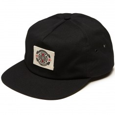 Independent Anytime Label Snapback Hat - Black