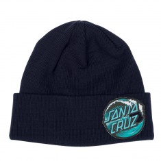 Santa Cruz Wave Dot Beanie - Navy