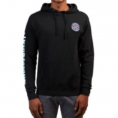 Independent T/C Patch Combo Pullover Hooded Sweatshirt - Black