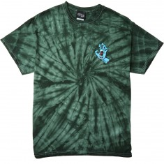 Santa Cruz Screaming Hand T-Shirt - Spider Green