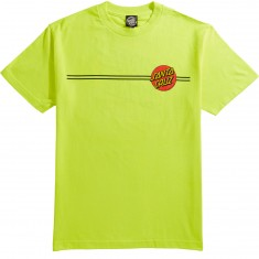 Santa Cruz Classic Dot T-Shirt - Safety Green