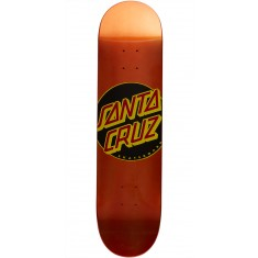 Santa Cruz Classic Dot Team Skateboard Deck - 7.8