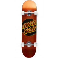 Santa Cruz Classic Dot Team Skateboard Complete - 7.8