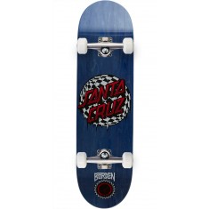 Santa Cruz Borden Check Waste Dot Pro P2 Skateboard Complete - 8.5