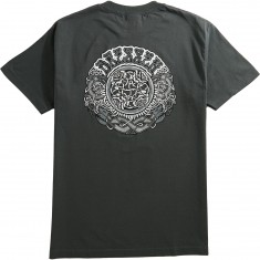 Santa Cruz Dressen Black Roses T-Shirt - Charcoal