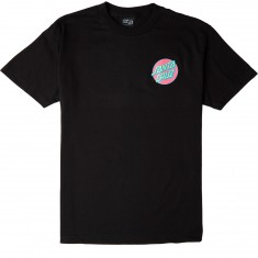 Santa Cruz Slasher Neon T-Shirt - Black