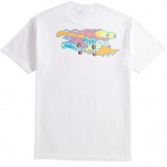 Santa Cruz Slasher Neon T-Shirt - White
