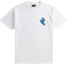Santa Cruz Screaming Mini Hand T-Shirt - White