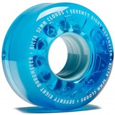 Ricta Crystal Clouds 78a Skateboard Wheels - Blue - 52mm