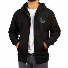 Creature Saturday Morning Special Zip Up Hoodie - Black