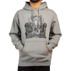 Santa Cruz Jessee Neptune Hoodie - Gunmetal Heather