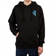 Santa Cruz Screaming Mini Hand Hoodie - Black