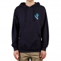 Santa Cruz Screaming Mini Hand Hoodie - Navy