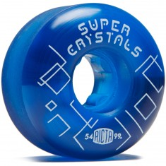 Ricta Super Crystals 99a Skateboard Wheels - Blue - 54mm