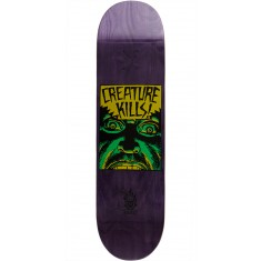 Creature Ambush Hard Rock Maple Skateboard Deck - 8.25