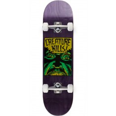 Creature Ambush Hard Rock Maple Skateboard Complete - 8.25