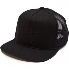 Independent Jessee Man Club Trucker Hat - Black