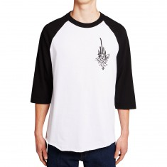 Independent Jessee Raglan Shirt - White/Black